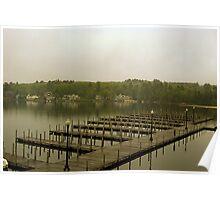 Weirs Beach Docks Poster