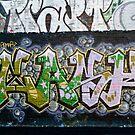 Grunge Graffiti Wall by yurix