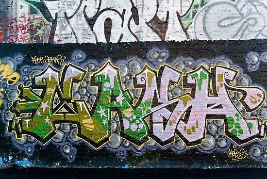 Grunge Graffiti Wall by yurix