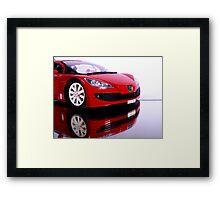 Peugeot  SPORT CAR Framed Print