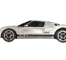 Ford GT40 - Side by axemangraphics