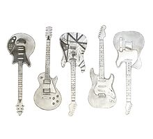 Guitars Photographic Print