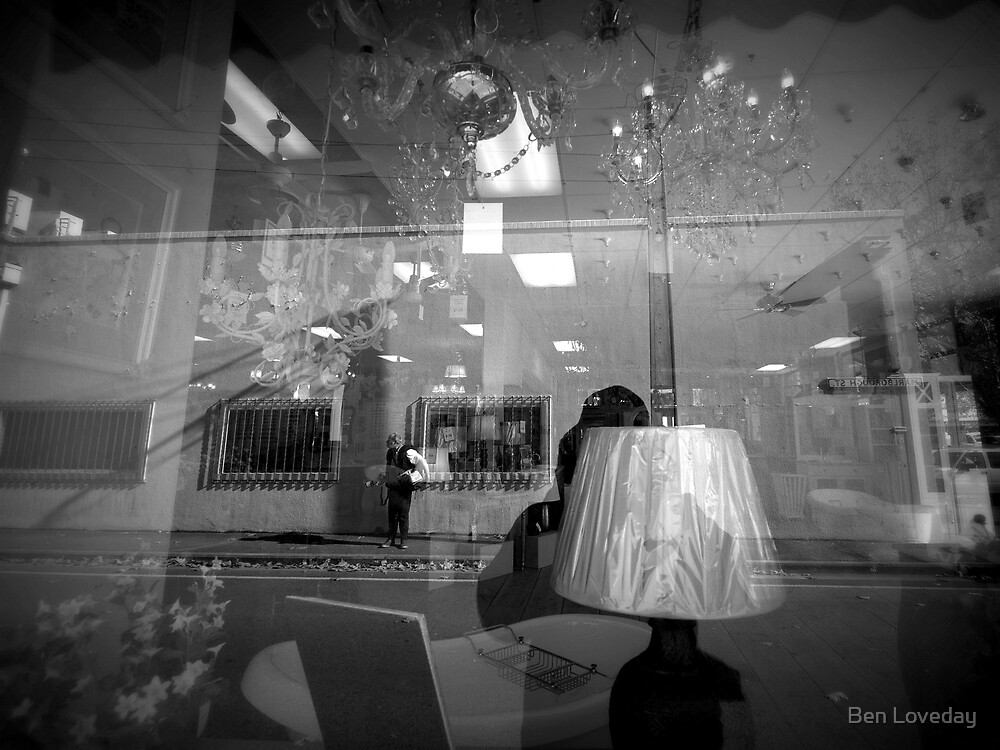 Photographer in the Furniture Shop by Ben Loveday