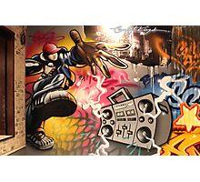 hip hop graffiti Photographic Print