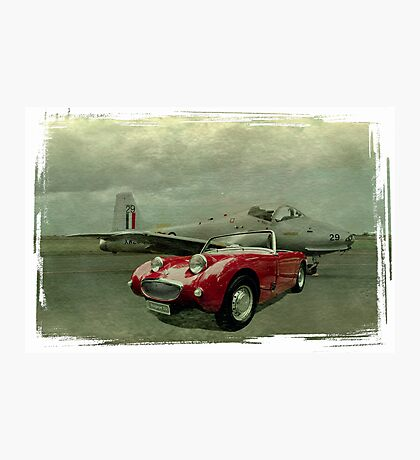 Jet Provost & Bugeye Photographic Print