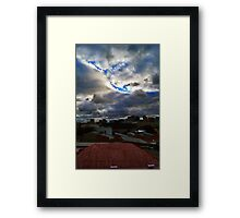 a room with view Framed Print