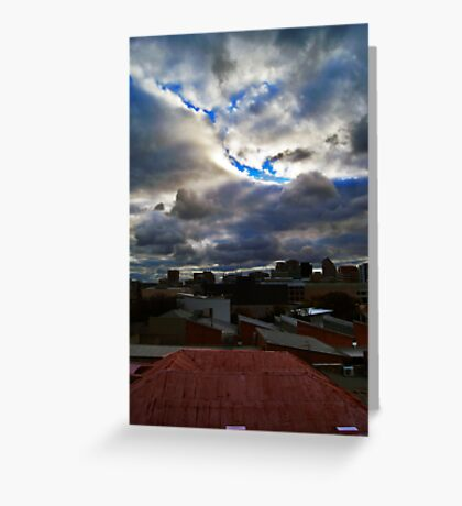 a room with view Greeting Card