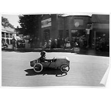 Billy cart boy Poster