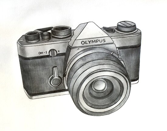 OM-1 SLR Camera by axemangraphics