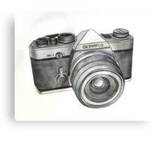OM-1 SLR Camera Canvas Print