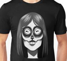Mysterious Skull Girl Unisex T-Shirt