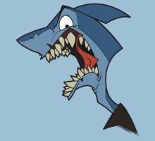 Angry blue shark T-Shirt