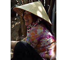 Saigon boat-woman Photographic Print