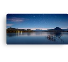 Blue Moogerah Canvas Print