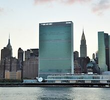 United Nations bldg...NYC by Poete100