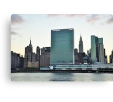 United Nations bldg...NYC Canvas Print