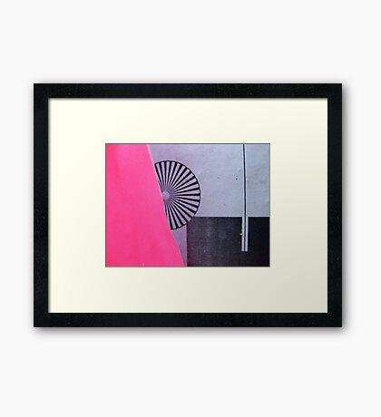 the secret sadness of whirligigs Framed Print