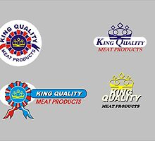 Logo Design examples - King Quality Meat Products by Joy45