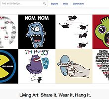 Feed Me - 13 June 2011 by The RedBubble Homepage