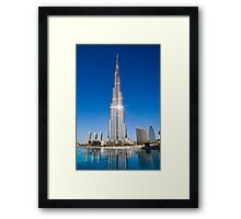The Tallest Structure Framed Print