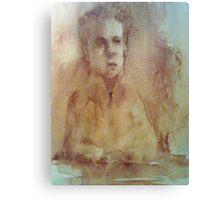 Brown ink Canvas Print