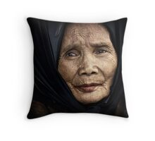The Street Hawker #0201 Throw Pillow