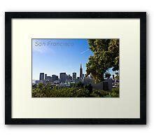 Down Town San Francisco Framed Print