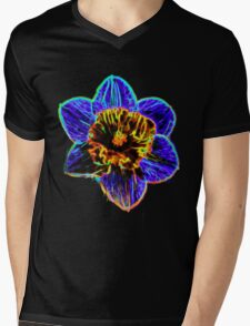 Daffodil Mens V-Neck T-Shirt