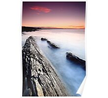 High Tide at Brickmakers Poster