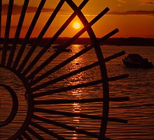 Segregated Sunset by Clive