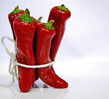 --- red hot chili peppers ... by Gregoria  Gregoriou Crowe