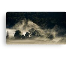 Persistent Mist, King Valley Canvas Print