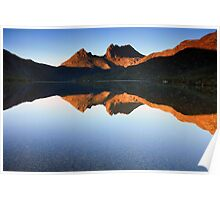 Glorious Morning at Cradle Mountain Poster