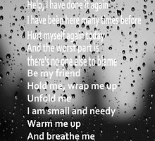 Breathe Me Lyrics - Sia - (Designs4You) by Skandar223