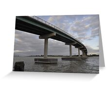Hindmarsh Island Bridge - a link to Secret Women's Business Greeting Card