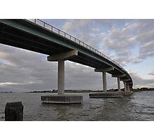 Hindmarsh Island Bridge - a link to Secret Women's Business Photographic Print