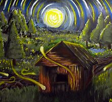 The Barn in Firefly Field by mrmccurdy