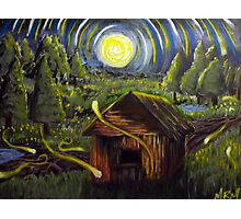 The Barn in Firefly Field Photographic Print