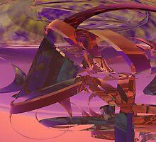 Webby Pastel Cutouts by Sazzart