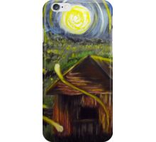 The Barn in Firefly Field iPhone Case/Skin