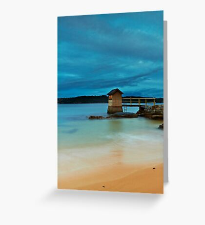 The Shed - Camp Cove NSW Greeting Card