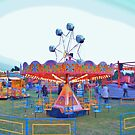 Around and around - Lindfield Fun Fair by Matthew Floyd