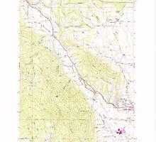 USGS Topo Map Oregon Gales Creek 279981 1979 24000 by wetdryvac