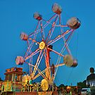 Ferris Wheel - Lindfield Fun Fair #1 by Matthew Floyd