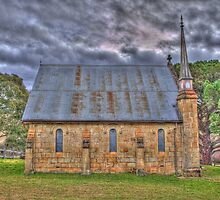 Byng Church- Side On by Sarah Donoghue