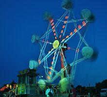 Ferris Wheel - Lindfield Fun Fair #6 by Matthew Floyd