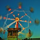 Ferris Wheel - Lindfield Fun Fair #10 by Matthew Floyd