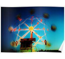 Ferris Wheel - Lindfield Fun Fair #12 Poster