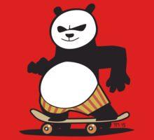 Skate Fu Panda One Piece - Short Sleeve