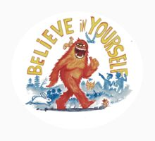 """Believe in Yourself!"" -Sasquatch Baby Tee"